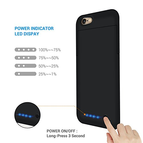 custodia con carica batteria iphone 6