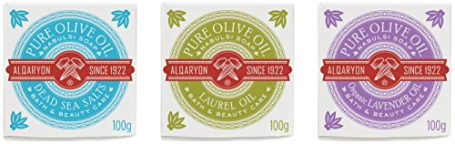 Alqaryon Assorted Olive Oil Bar Soaps, Bath