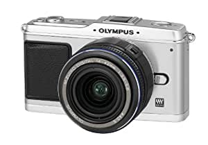 Olympus PEN E-P1 Systemkamera (12 Megapixel, 7,6 cm Display, Bildstabilisator) Gehäuse silber