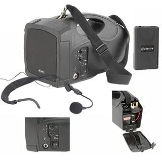 AVSL H25 UK Handheld Wireless PA USB Portable Speaker System VHF Microphone 25W Battery / Mains - UK Model