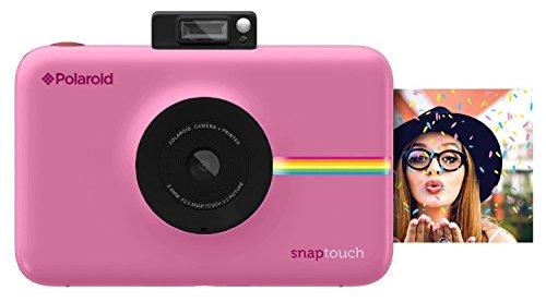 Polaroid POLSTBP Digitale Instant Snap Touch Kamera mit Zink Zero Ink Technologie Pink