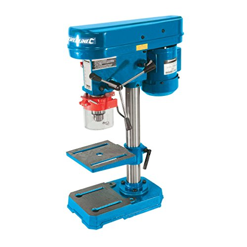 "Silverline 262212 - 350W 250mm (10"") DIY Bench Drill Press 230V"