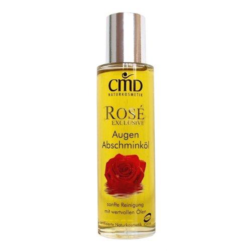 CMD Rosé Exclusive Augen-Abschminköl (bio, vegan, Naturkosmetik) Make-up-Entferner