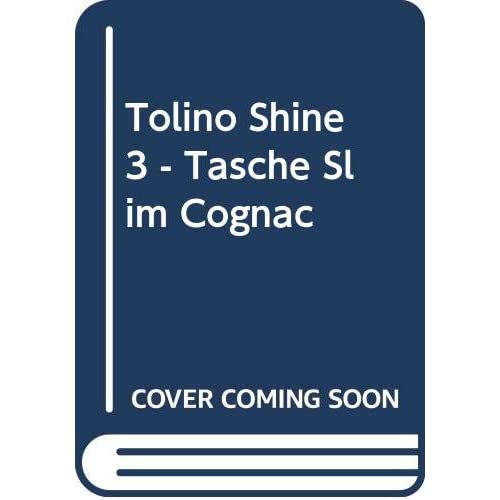 tolino shine 3 - Tasche Slim Cognac