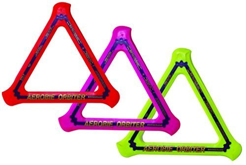 Aerobie Orbiter Boomerang - Single Unit (Colors May Vary) by Aerobie