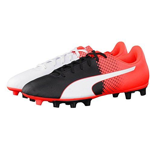 Puma Herren Evospeed 5.5 Fg Fußballschuhe Puma Black-Puma White-Red Blast
