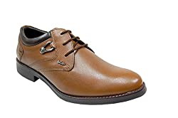 Lee Cooper Mens Tan Leather Formal Shoes - 10 UK
