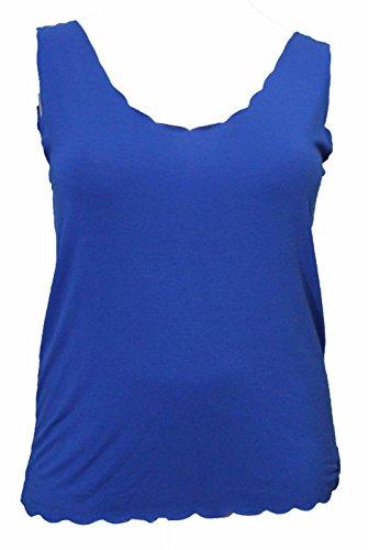 RIDDLEDWITHSTYLE - Débardeur - Femme * taille unique Bleu