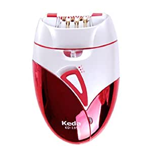 Keda KD-189 Hair Epilator Hair Remover Woman Lady shaver Rechargeable Shaver