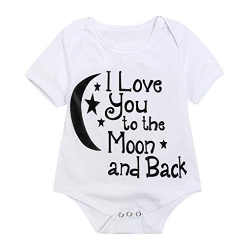 MOIKA Baby Bodys, (6Monate-4Jahre) Kleinkind Kinder Baby Boy Brief Print Tops Strampler Jumpsuits Sunsuit Kleidung
