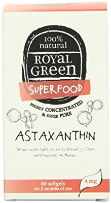 Royal Green Astaxanthin - Pack of 60 Capsules