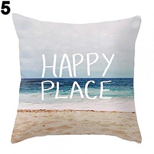 Boho Geometrische Beach Malerei Wohnzimmer Sofa Leinen Kissenbezug Kissen Fall amesii 5