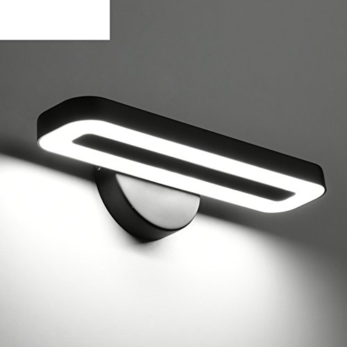 LED wall lamp/Simple modern bedroom vanity mirror use lights/ the living room TV Wall lamp/ study reading Office wall-B