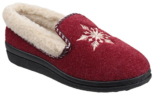 Mirak Chaussons pour femme red