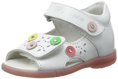 Primigi FLO, Scarpe con cinturino alla caviglia bambina, Bianco (Weiß (BIANCO)), 20