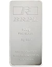 Bangalore Refinery 999 Purity Silver Bar 500 Gram