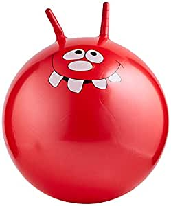 Toyrific Jump N Bounce Space Hopper Retro Ball, Happy, 24 Inch, Assorted Color