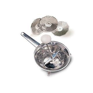 Easy Acea Ghidini Cipriano 2541Schnitzler/Kartoffeln/Obst, aus Edelstahl 18/8, Durchmesser 20cm