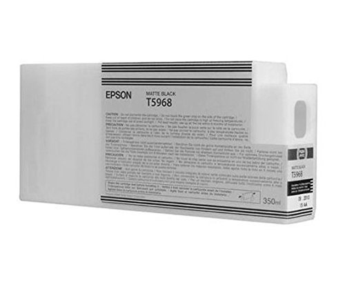 Epson T5968 C13T596800 - Cartouche d'encre d'origine - Noir Mat (Matte Black) pour Stylus Pro - 350ml