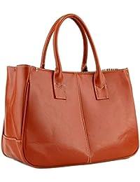 HOUSWEETY Mode Femmes Sac a Main Cuir PU Shopping Handbag Organisateur