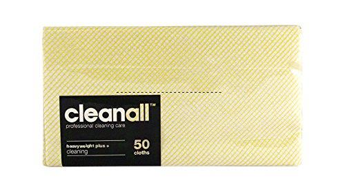 cleanall jcchp50y janitors panno, pesante, Plus, Giallo (Confezione da 6)