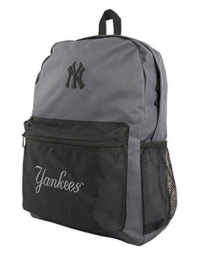 New Era New York Yankees Pitcher 16 Litre Backpack - Grey / Black - O/S
