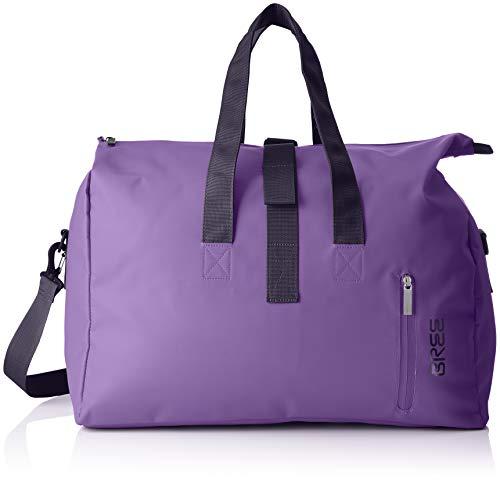 BREE Collection Damen Punch 723, Pat. Purple, Weekender S S19 Umhängetasche, Violett (Pat.Purple), 25x44x50 cm