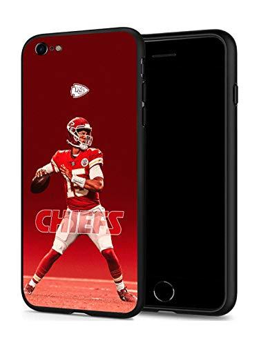 iPhone 7 iPhone 8 Hülle für American Football Fans (nur kompatibel mit iPhone 7/8), Kansas City Mahomes