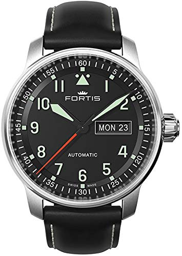 Fortis Aviatis Flieger Professional 704.21.11L.01 Automatic Mens Watch Swiss Made