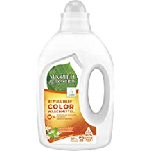 Seventh Generation Waschmittel Color Fresh Orange & Blossom Scent 20 Wäschen, 1000 ml