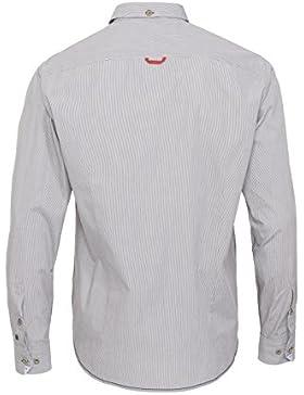 Pure Gestreiftes Trachtenhemd