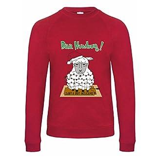 Style It Up Sudadera para Hombre con diseño navideño de Navidad, de algodón Rico