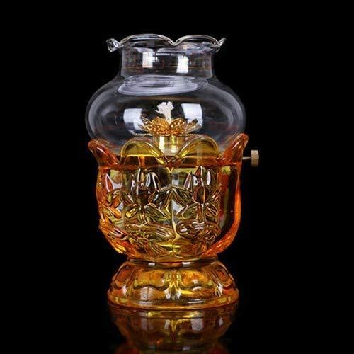 Edelstahl-Öllampen-Kugel Öllampe Laterne
