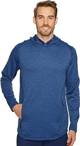 Under Armour Tech Terry Popover Hoodie, Felpa Uomo Moroccan Blue