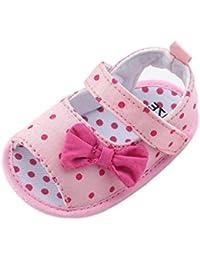 18142ff9b Zapatos Bebé prewalker verano Xinantime Sandalias bebé Niña Bebé Zapatos  Princesa Bowknot - Zapatos de vestir