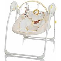 Elektrische Babyschaukel Automatische Baby Wiege Wippe Little World Dreamday creme