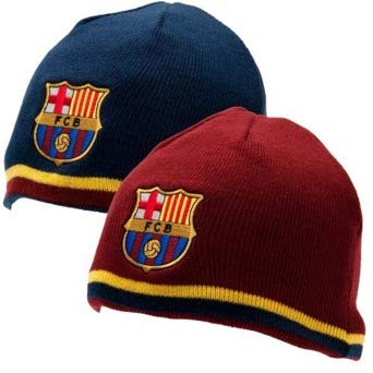 F.C. Barcelona Reversible Knitted Hat