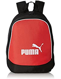 Puma Black and Red Casual Backpack (7213301)