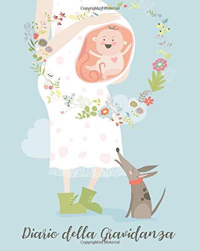 Diario della gravidanza da compilare Libro agenda del bebè quaderno sui nove mesi di attesa della maa