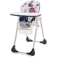 Chicco Polly Easy - Trona amplia, compacta y sencilla, para niños de 0 a 3 años