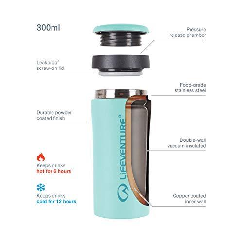 Relags Lifeventure Isobecher 'Thermal' Becher, Hellblau, 0.3 Liter