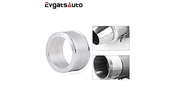 2.4inch to 2inch Evgatsauto 60mm to 51mm Motorcycle Exhaust Adapter Aluminum Motocross Motorcycle Exhaust Pipe Adapter Reducer Muffler Connector 60mm to 51mm