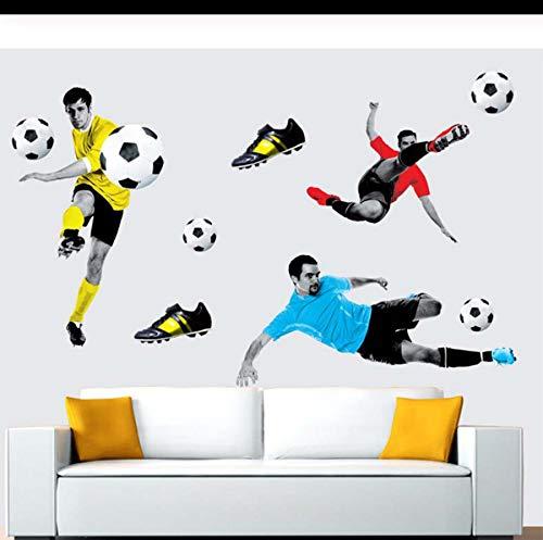Kreative Fußball 3d Wandaufkleber Basketball Gebrochen Wandkunst Aufkleber Auto Wand Poster Kinderzimmer Dekoration Jungen Gefälligkeiten