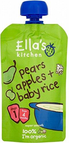 Ella's Kitchen Orgánico Peras, Manzanas Y Arroz