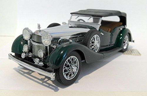 franklin-mint-1-24-scale-diecast-b11pu51-1938-alvis-43-litre-green-chrome