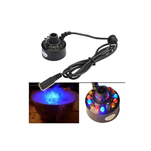 Sharplace LED Nebel Hersteller Maschine, Mist Maker, Luftbefeuchter mit EU Stecker für Brunnen ()