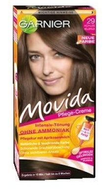 Movida Pflege-Creme Intensiv Tönung 29 kühles Hellbraun