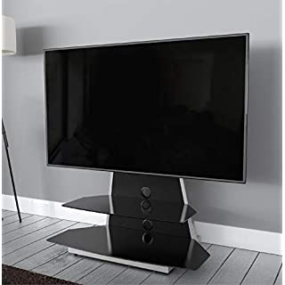 AVF Options STKL900A Stack TV Stand For Up To 65 inch TVs - Black