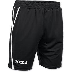 Joma Game Bermuda, Unisex adulto, Negro / Blanco, M