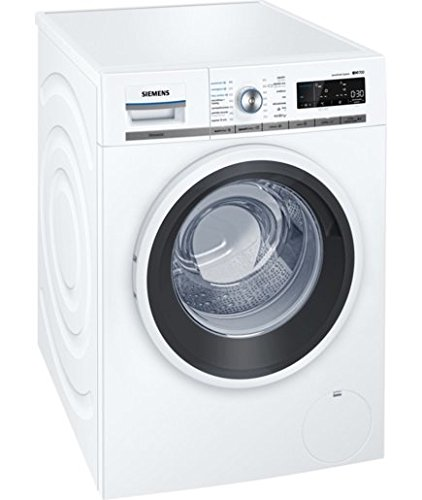 Siemens wm14�W780es Independent Front Loading 8�kg 1400RPM A + + + White�-�Washing Machine (Freestanding, Front Loading, White, LED, White, Right)